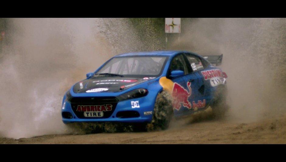 Dodge Dart RallyCross : 600 chevaux pour Travis Pastrana !
