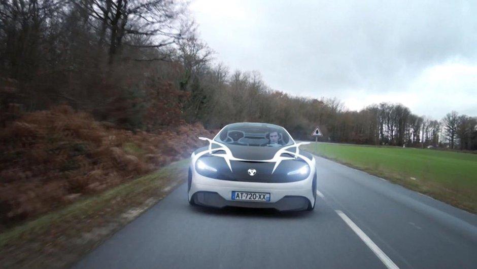 Vidéo : Tronatic Atmos, une voiture française virtuelle