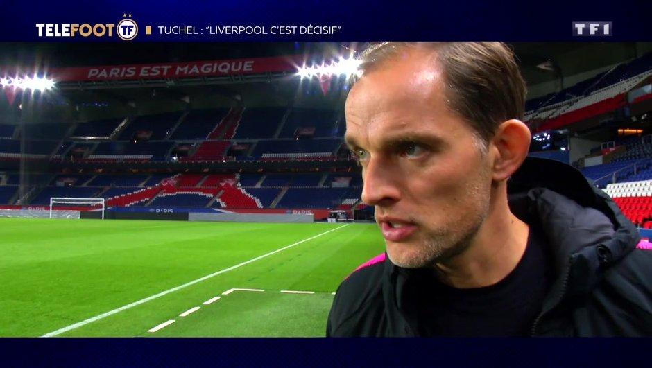"""[EXCLU Téléfoot – 25/11] - Tuchel sur Neymar et Mbappé : """"Je pense qu'ils peuvent jouer face à Liverpool"""""""
