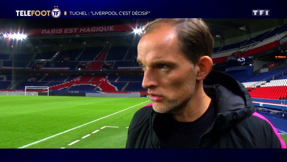 """[EXCLU Téléfoot – 25/11] - Tuchel évoque le choc entre PSG et Liverpool : """"Un match très important"""""""