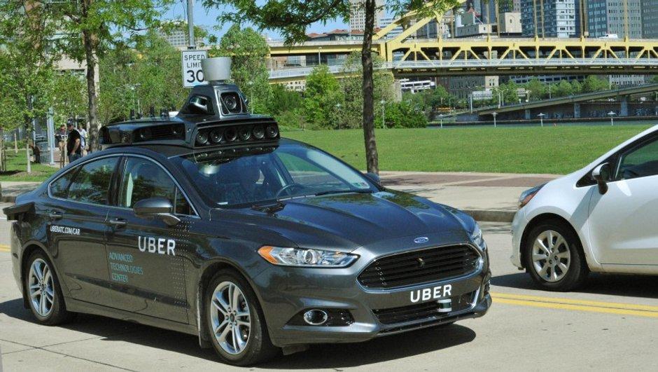 Uber a présenté sa future voiture... sans chauffeur !