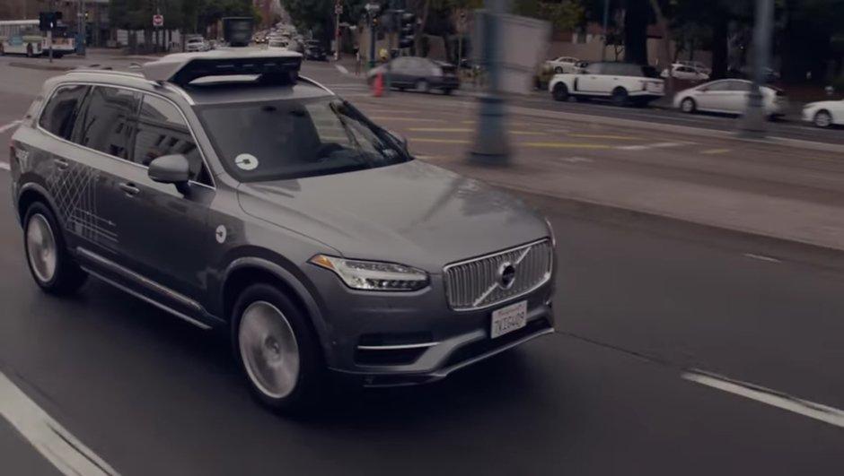 Uber : la voiture autonome arrêtée en Californie… après quelques heures