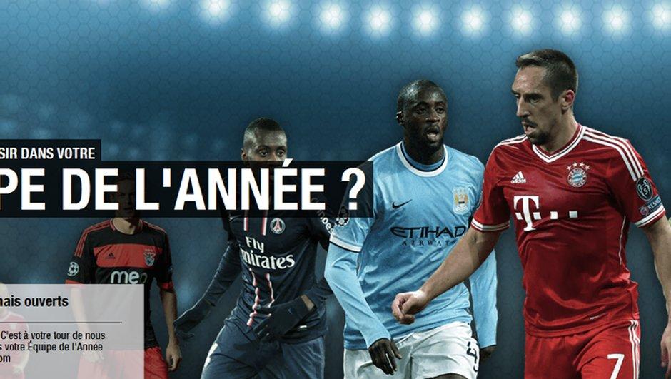 UEFA Equipe de l'Année 2013 : Trois Français dans la liste des présélectionnés