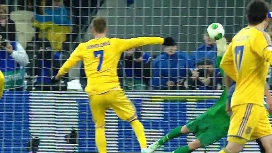 Ukraine-France: but de Yarmolenko en vidéo, 2-0 (82e)