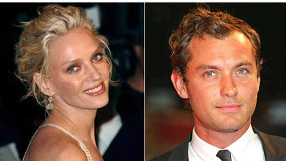 Jude Law et Uma Thurman, jurés à Cannes 2011