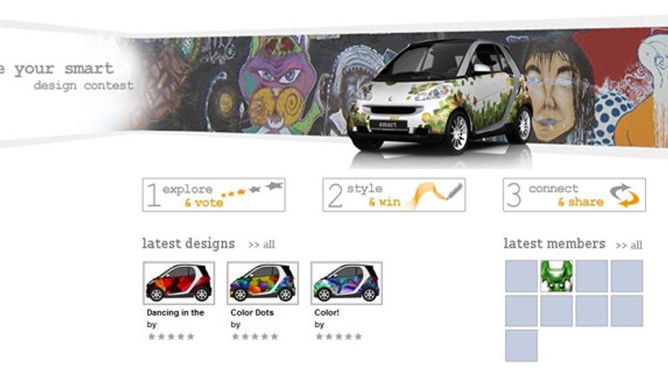 Un concours de design sur le thème de la Smart Fortwo