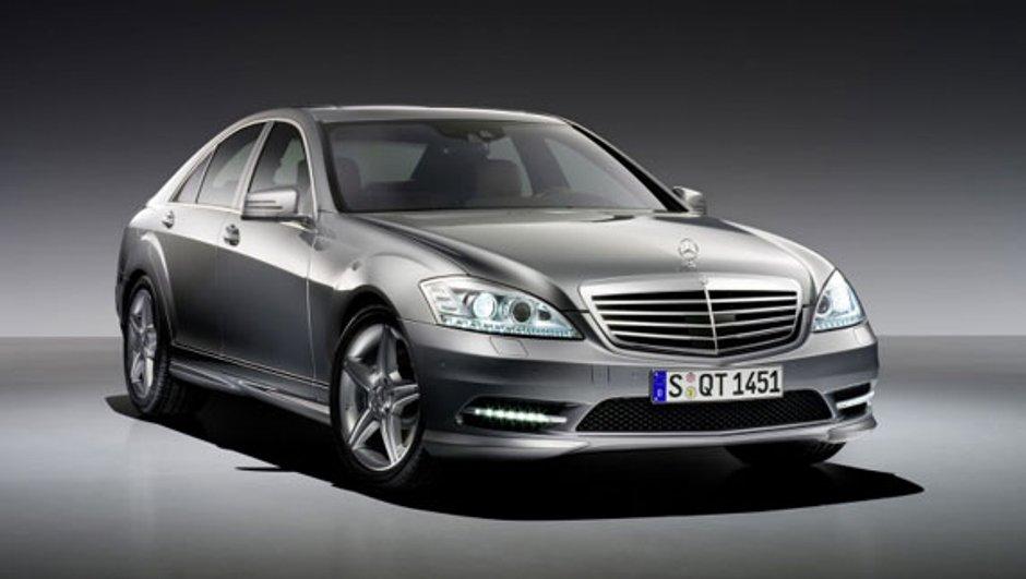 Mercedes offre un pack AMG à la Classe S