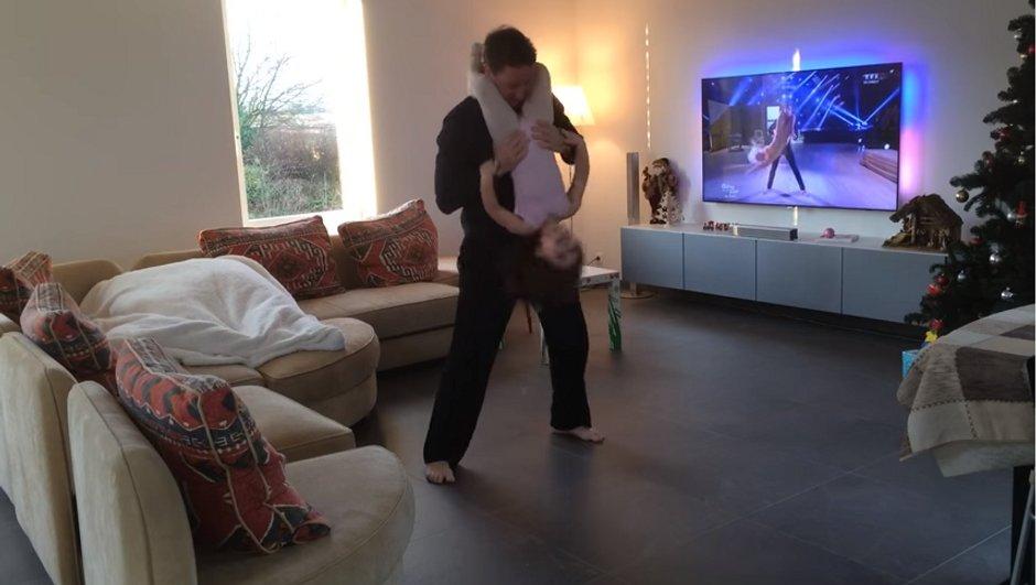 """Un papa et sa fille reprennent la chorégraphie de """"Chandelier"""" réalisée par Loïc Nottet et Denitsa Ikonomova"""