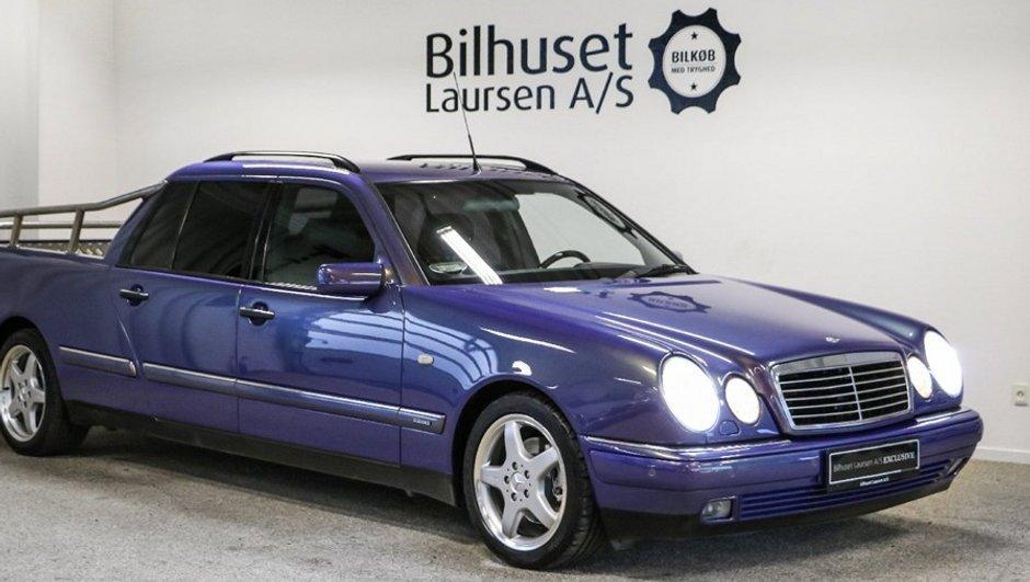 Occasion du jour : Une Mercedes-Benz Classe E… pickup !