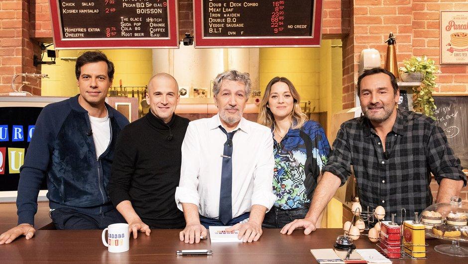 Burger Quiz - Alain Chabat reprend du service pour Marion Cotillard, Guillaume Canet, Gilles Lellouche et Laurent Lafitte