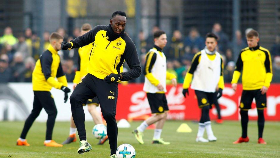 Insolite : Usain Bolt, buteur avec Dortmund !