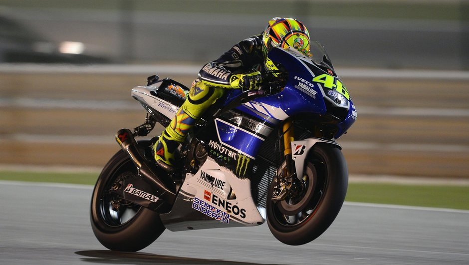 Moto GP - Essais 3 GP Qatar: Rossi dans le tempo