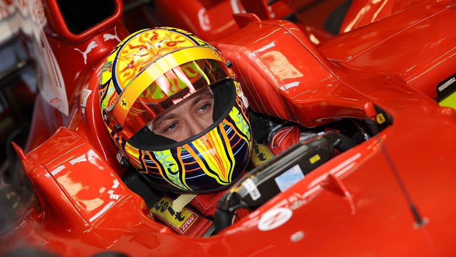 Rossi ne regrette pas d'avoir renoncé à la F1