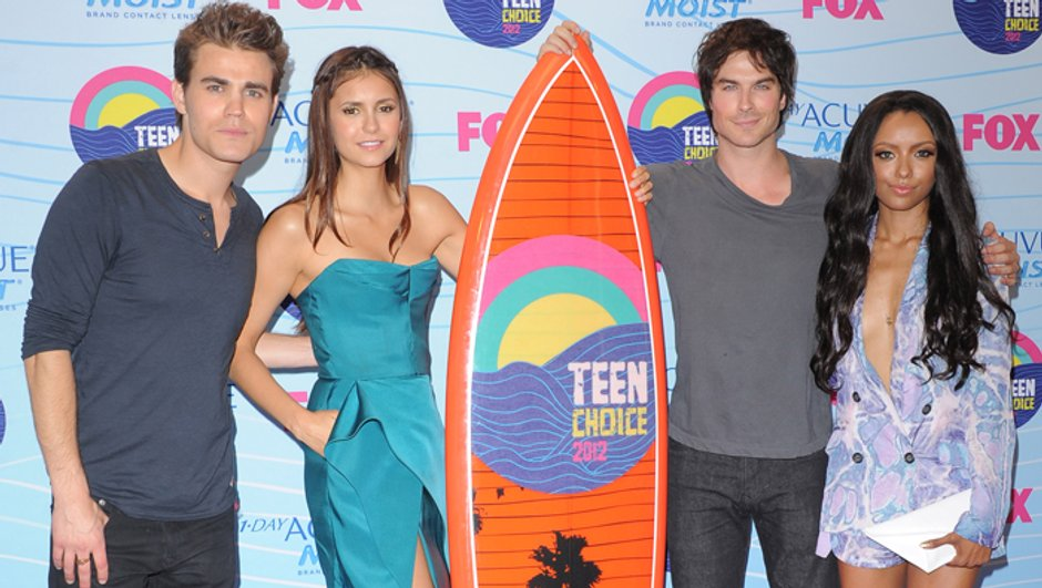 Teen Choice Awards 2012 : la série Vampire Diaries remporte 6 prix