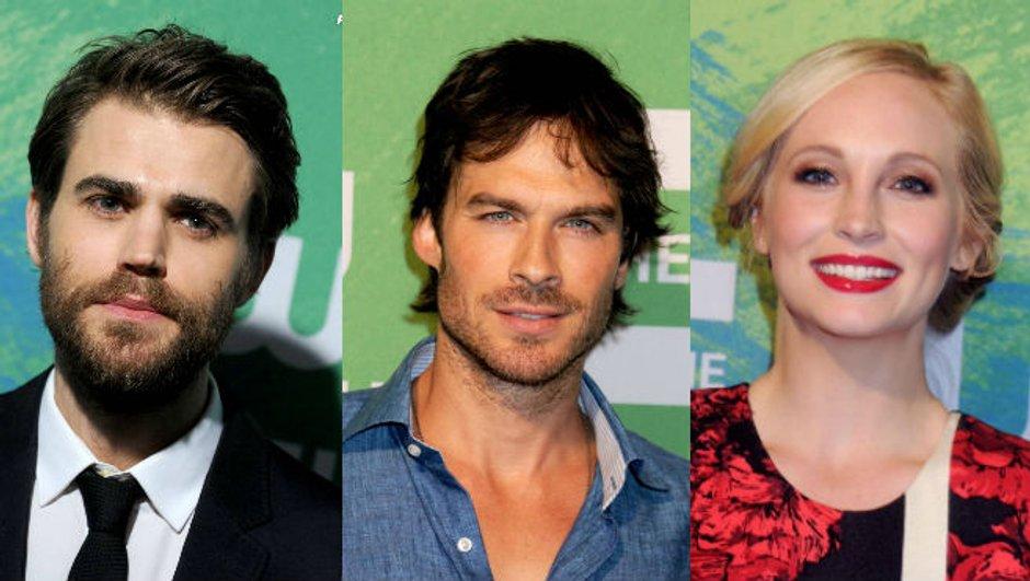 Les acteurs de Vampire Diaries font leur défilé !