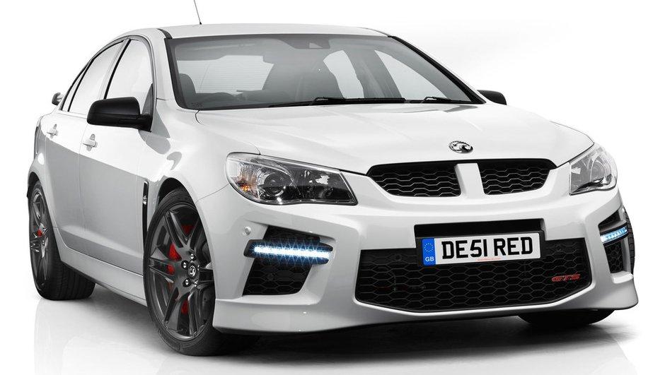Vauxhall VXR8 GTS 2013 : la turbulente australienne débarque outre-Manche