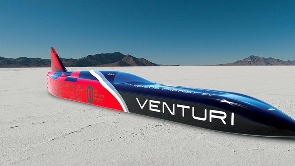 Venturi VBB-3 : le défi électrique à 700 km/h !
