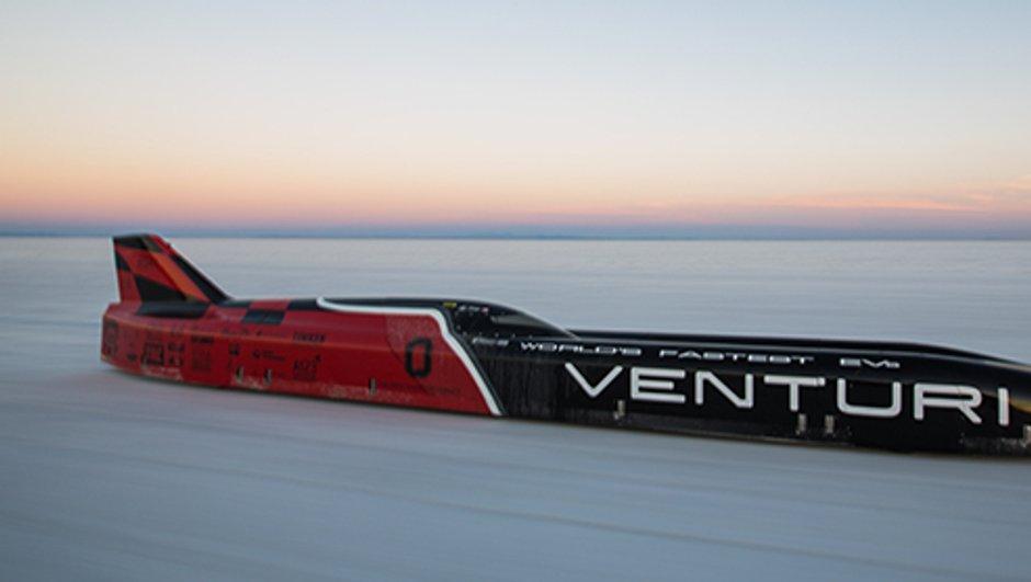 Record : 576 km/h en électrique, c'est possible et Venturi l'a fait !