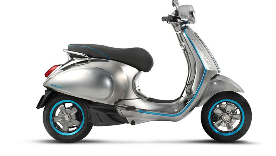 Salon moto Milan - EICMA 2016 : La Vespa passe à l'électrique !