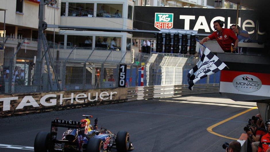 GP de Monaco : Vettel en maître de la F1