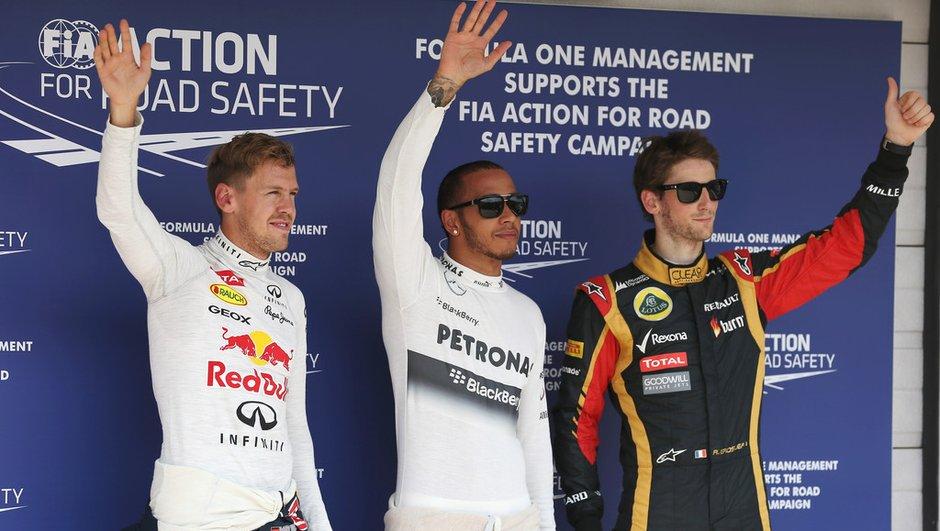 F1 - GP de Hongrie 2013 : la grille de départ