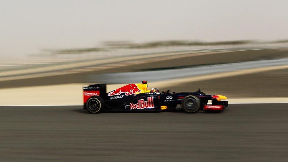 F1 - GP de Bahreïn : Victoire de Vettel, podium de Grosjean !