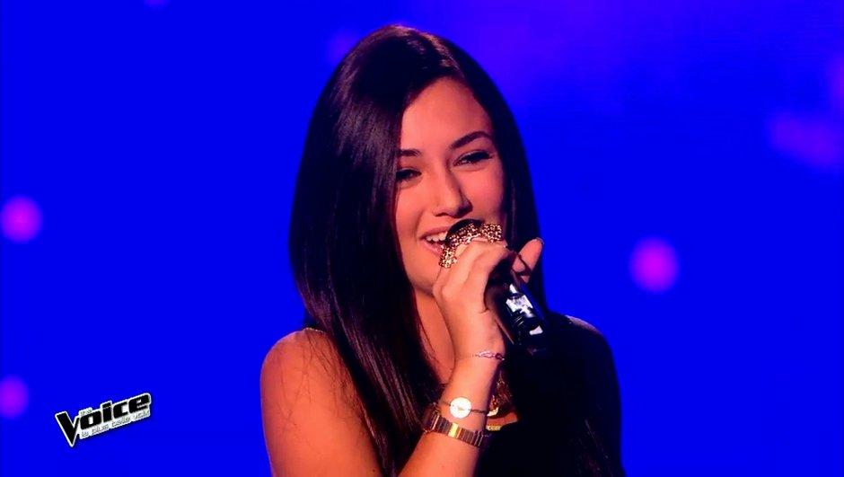 The Voice  4 : Victoria de The Voice Kids a réussi son examen d'entrée chez les grands