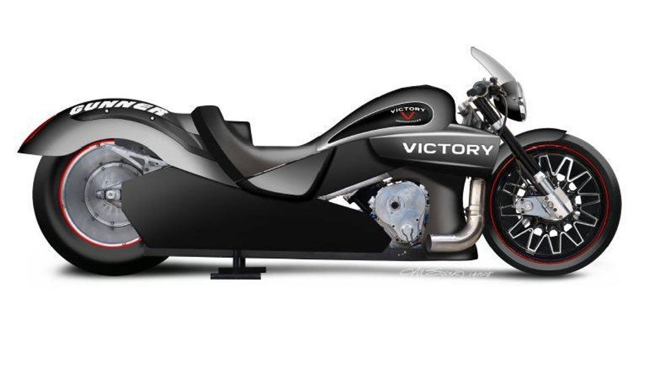 Victory Motorcycles s'engage en course de dragster !
