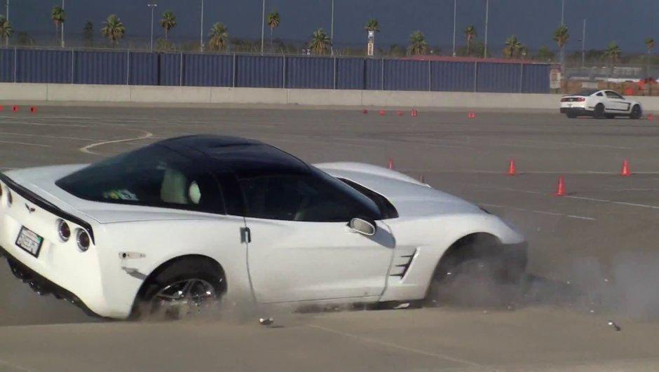 Vidéo : un crash en Corvette