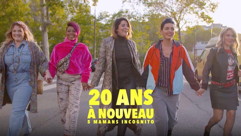 20 ans à nouveau - 5 Mamans incognito : disponible grâce à MYTF1 Premium