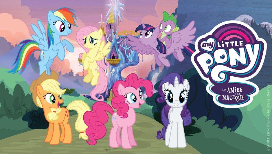 My Little Pony, les amies c'est magique : les personnages principaux