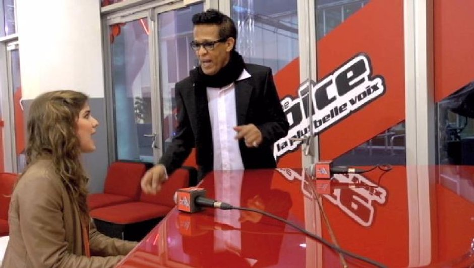 The Voice : Pia Salvia et Vigon chantent Hit the Road Jack