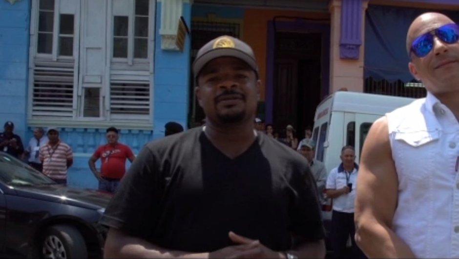 Fast & Furious 8 : les images du tournage à Cuba !