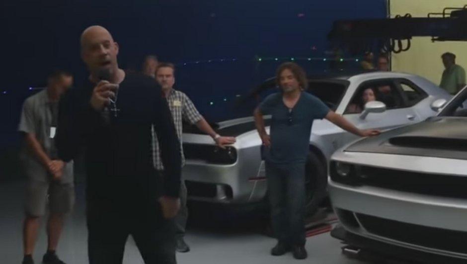 La Dodge Challenger SRT Demon en fuite sur une vidéo de Vin Diesel !
