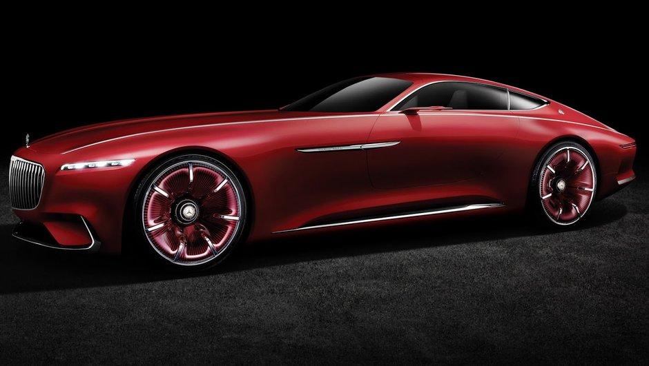 Le concept Vision Mercedes-Maybach 6 dévoilé à Pebble Beach