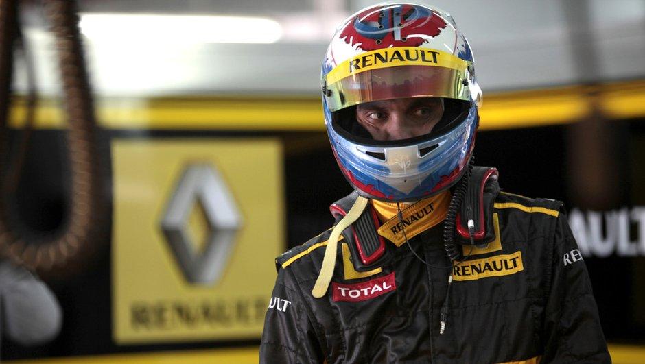 F1 : Petrov n'est pas sûr de rouler en Formule 1