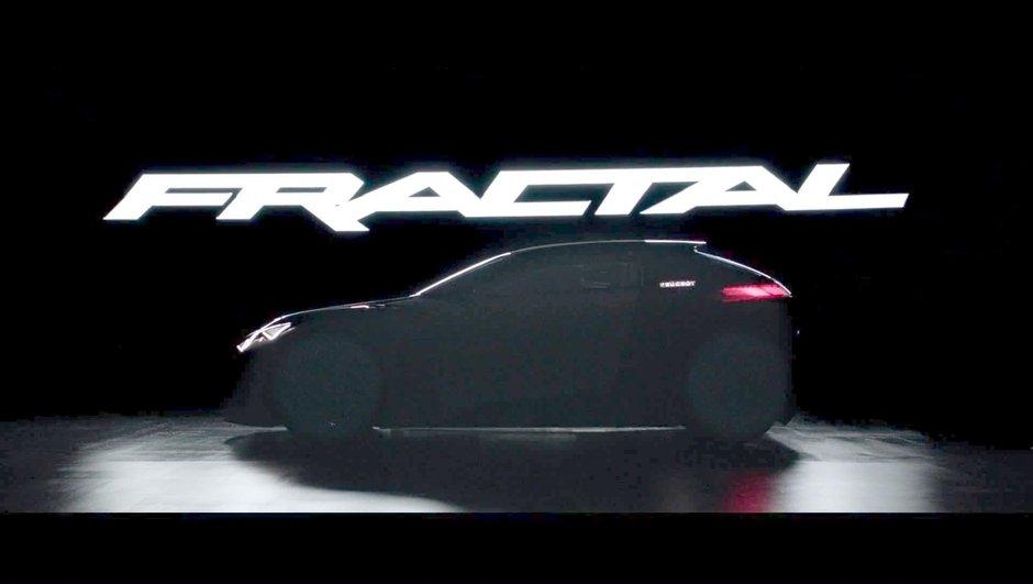 Peugeot Fractal Concept : nouvelles vidéos avant le Salon de Francfort
