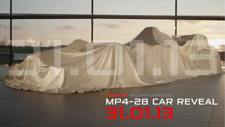 F1 2013 : la McLaren MP4-28 préfigurée en vidéo