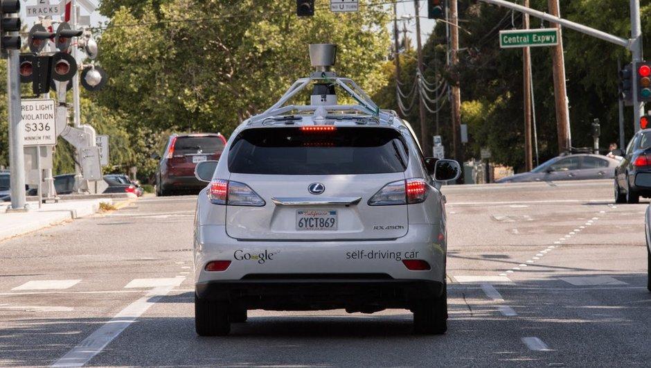Google Car : des premiers blessés pour la voiture autonome