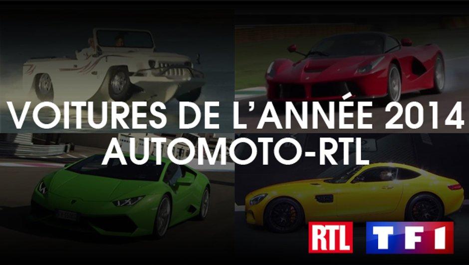 Les Français élisent les Voitures de l'Année 2014 - Sondage Automoto en partenariat avec RTL