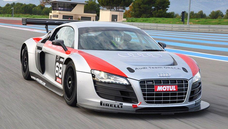 Nous avons essayé l'Audi R8 LMS