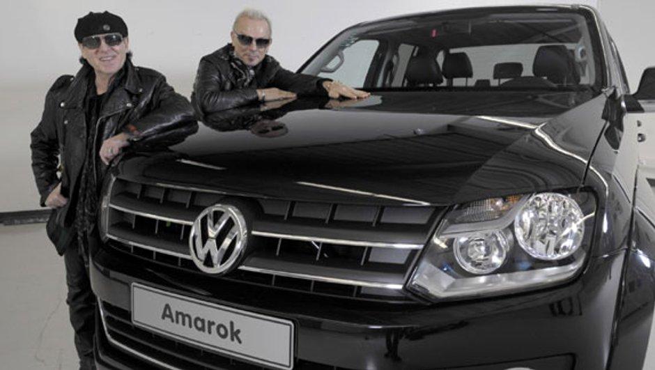 Volkswagen Amarok : les rockers de Scorpions vont le tester au Dakar 2010