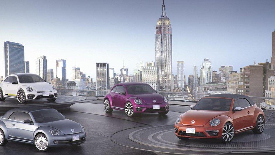Salon de New York 2015 : Des Volkswagen Beetle à toutes les sauces