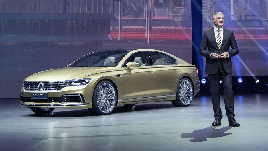 Salon de Shanghai 2015 : Volkswagen intronise le concept C Coupé GTE