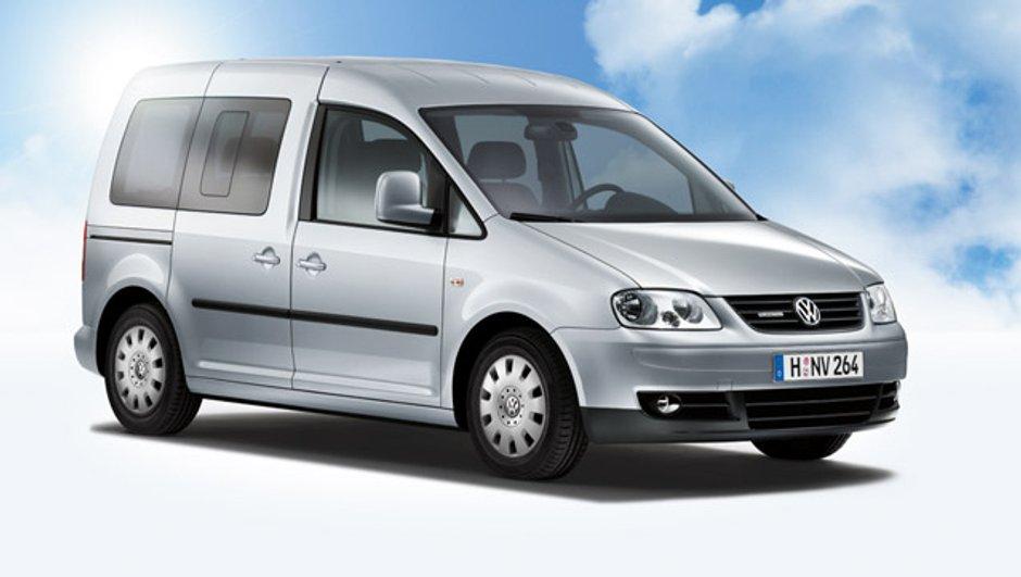 Volkswagen Caddy BlueMotion : l'utilitaire passe au vert