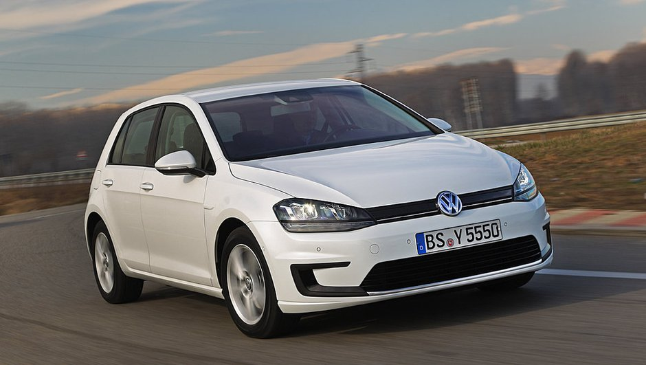 Salon de Genève 2013 : Volkswagen e-Golf, compacte électrisée
