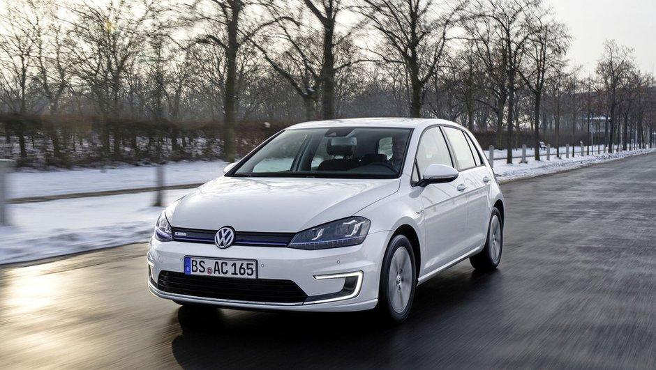 La Volkswagen e-Golf reine de l'électrique en Europe