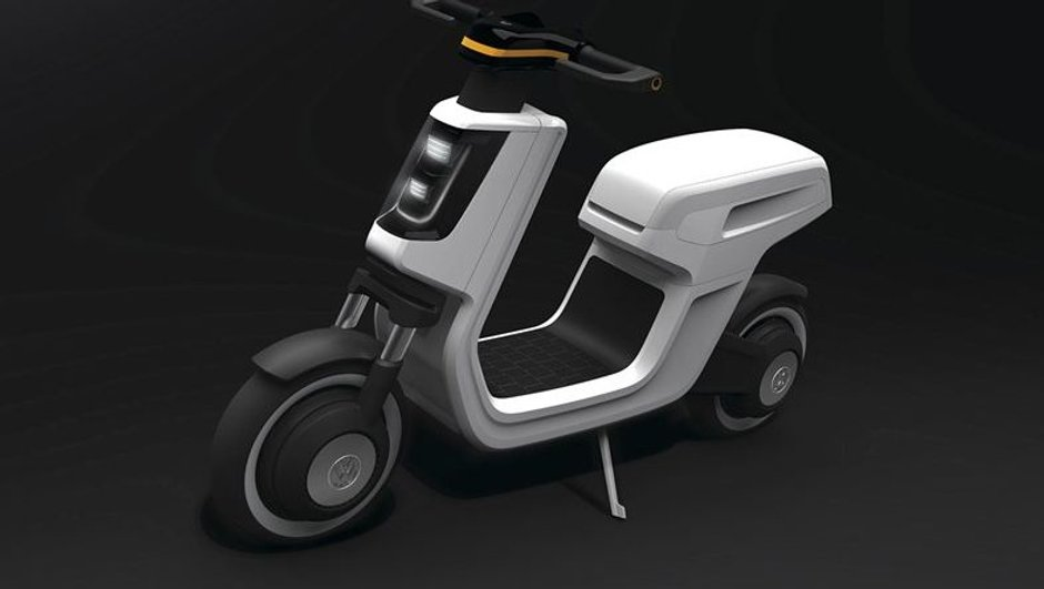 Surprise : un scooter électrique Volkswagen !