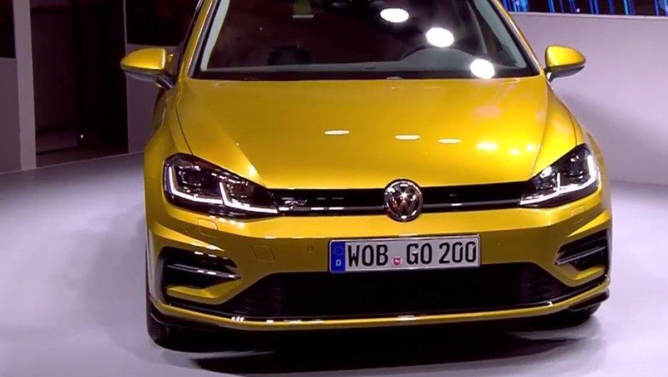 Volkswagen Golf 2017 : les vidéo, photos et infos officielles du restylage