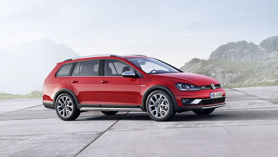 Nouvelle Volkswagen Golf Alltrack 2015 : la n°1 européenne se soulève